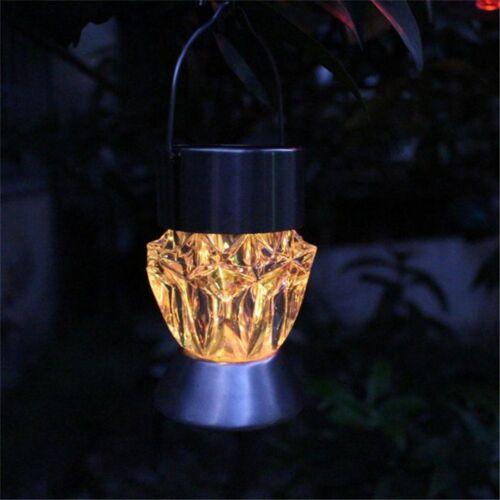 Home Garden Solar Light Bulb Waterproof Rotatable Hanging 7Colors LED Light Lamp