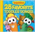 25 Favorite Toddler Songs 0820413115128 by VeggieTales CD