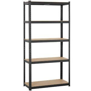 Heavy-Duty-71-034-H-Shelf-Garage-Steel-Metal-Storage-5-Level-Adjustable-Shelves-Rack