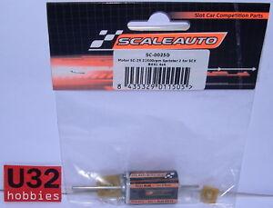 Scaleauto Sc-0025d Motor Sc-25 Sprinter 2 21500rpm 300gr Xcm 4x4 Für Scalextric Long Performance Life Elektrisches Spielzeug