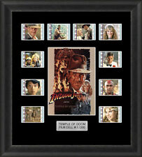 Indiana Jones Temple of Doom Framed 35mm Film Cell Memorabilia Filmcells Movie