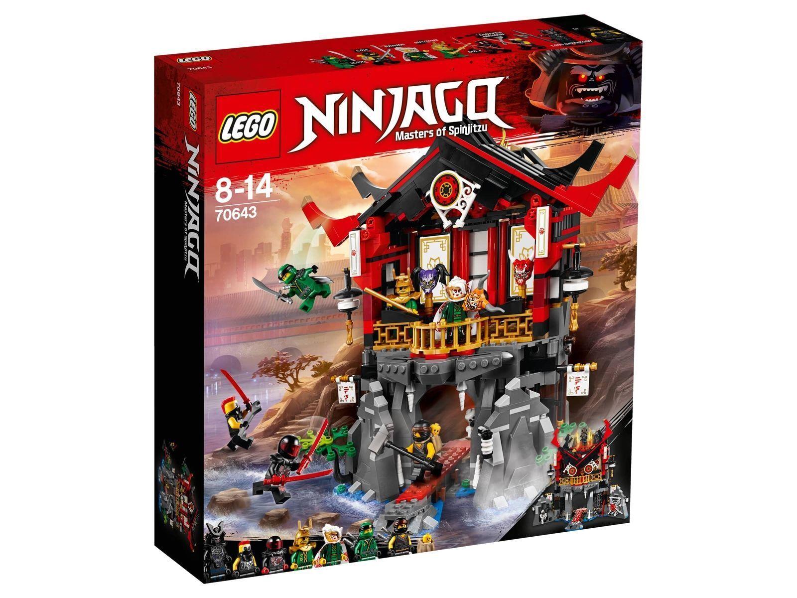 11-5-9 LEGO® Ninjago (70643) Tempel der Auferstehung ungeöffnete Neuware