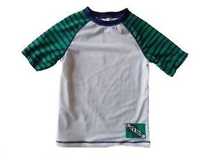 6bbd9967b4 Details about NWT Boy's Gymboree Dive Shop short sleeve rashguard swim shirt  ~ 18-24 months 2T