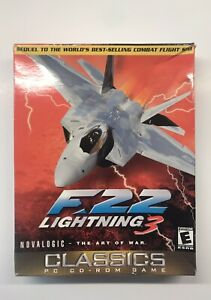 F-22 Lightning 3 (PC, 1999) (read Description)