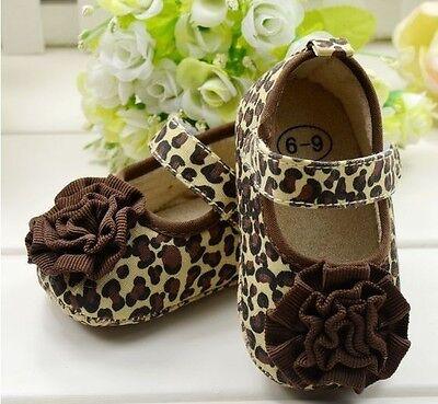 Recién Nacido Bebé Niño Chicas Zapatos Pre Walker Cochecito Cuna Suave único 0-12m