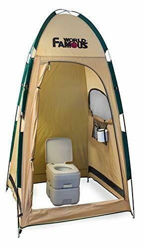World Famous PortaPrivy Privacy Bathroom Tent Shelter