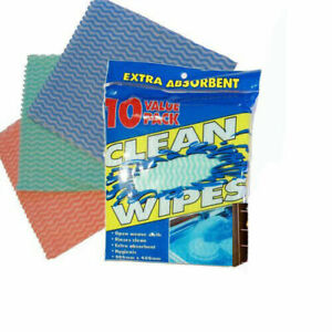 10-Extra-Absorbent-Wipe-Kitchen-Reusable-Cleaning-Towel-Cloth-Dish-Drying-Polish