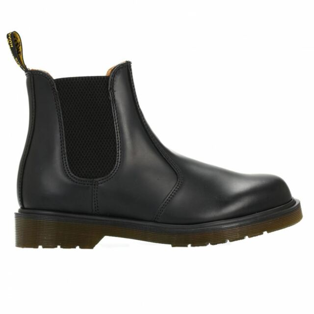 14efae1a54f7d Buy Dr. Martens Mens 2976 Chelsea Boot Black Smooth UK 7   US 8 ...