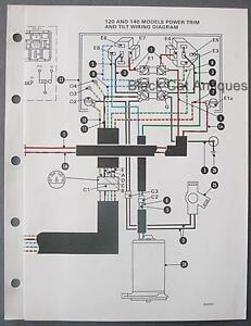 original mariner marine power trim  u0026 tilt wiring diagram