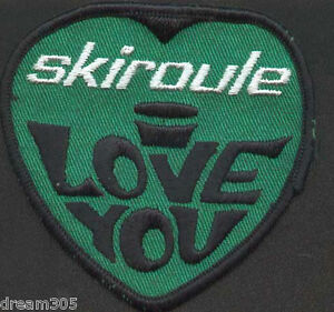 Vintage-1970s-Snowmobile-SKI-ROULE-SKIROULE-Sled-Patch-SKIDOO