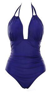 0edfaec19d B2prity Women's One Piece Swimsuits Tummy Control Swimwear Slimming ...