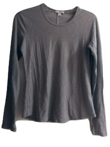 43ac0f7c833 Image is loading James-Perse-Long-Sleeve-Crew-Neck-Tee-SHAD-