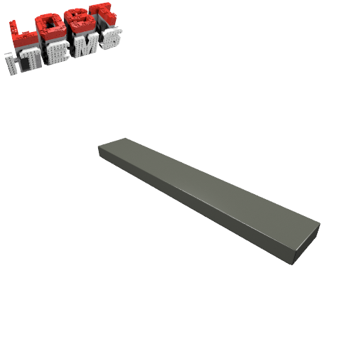 4 x [neu] LEGO Fliese 1 x 6 - alt-dunkelgrau - 6636