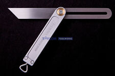 "Shinwa Japanese 8"" Sliding Bevel Gauge w/ Aluminum Base & Stainless Steel Blade"
