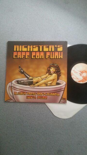 RICKSTERS CAFE  CON FUNK.RARE USA 2002 EX LP