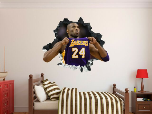 Stephen Curry Wall Hole 3D Decal Vinyl Sticker Decor Room Smashed Golden State 2