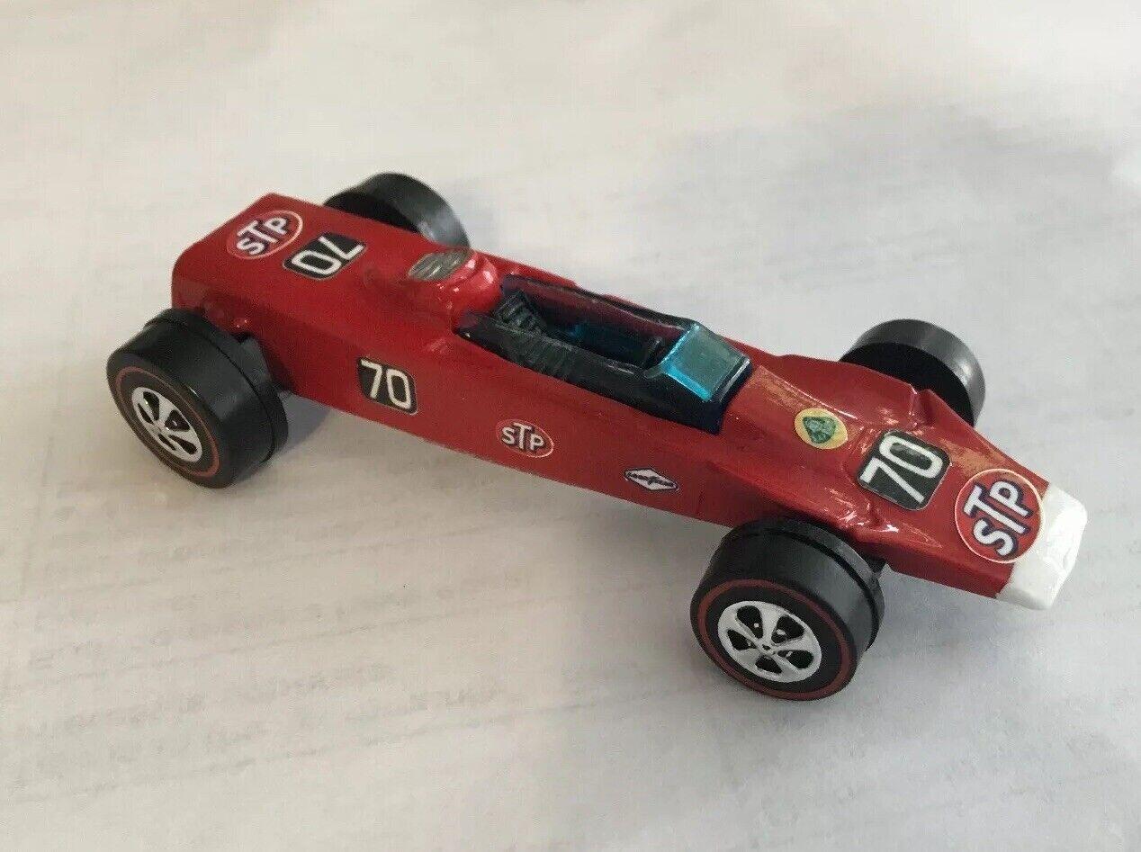 Hot Wheels Lotus Turbina rojoline Indianapolis 500 Race Coche