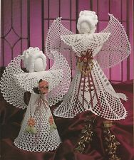 Crochet Pattern ~ Elegant Angels Christmas Doll ~ Instructions