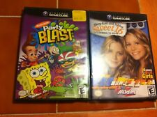 Gamecube games Nickelodeon Party Blast, Mary Kate & Ashley Sweet 16 GC L@@K