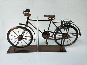 Iron Bicycle Bike Miniature Book End Home Decor  50 cm