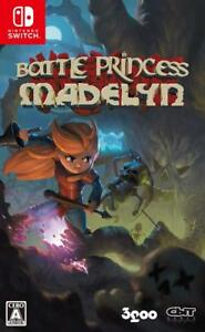 NEW-NINTENDO-SWITCH-Battle-Princess-Madelyn-JAPAN-OFFICIAL-IMPORT