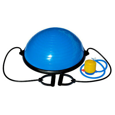 Bosu balance trainer yoga pilates ball pelota de gimnasia de 58 cm azul