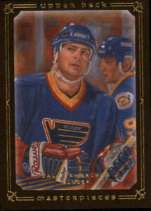 2008-09-UD-Masterpieces-Brown-68-Dale-Hawerchuk-NM-MT