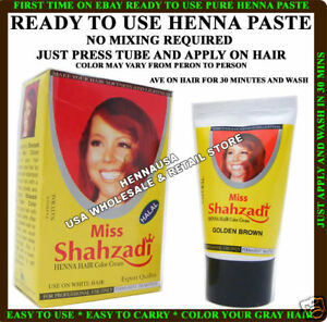 2-HENNA-INSTANT-HAIR-COLOR-CREAM-TUBE-GOLDEN-BROWN-USA