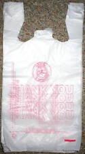 50 Wholesale Plastic T Shirt Bags Shopping Merchandice