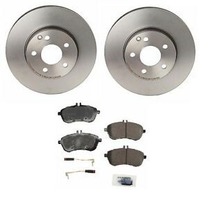 New mercedes w204 c300 c250 2008 2014 front brake kit with for Mercedes benz c300 brake rotors