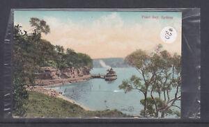 POSTCARD-1907-PEARL-BAY-SYDNEY-POSTED-VIA-DANDALOO