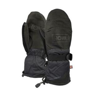 2019-NWT-HOWL-FORMER-MITTS-M-Black-primaloft-insulation-goat-leather-palm