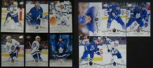 2018-19-Upper-Deck-UD-Toronto-Maple-Leafs-Series-1-amp-2-Team-Set-11-Hockey-Cards