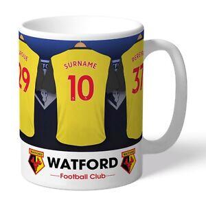 fd9a9f54ffe Image is loading Personalised-WATFORD-Football-Club-FC-Dressing-Room-Mug-