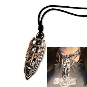 The-Elder-Scrolls-5-Skyrim-Akatosh-Amulet-Pendant-Necklace-Charm-Gift-Freeship
