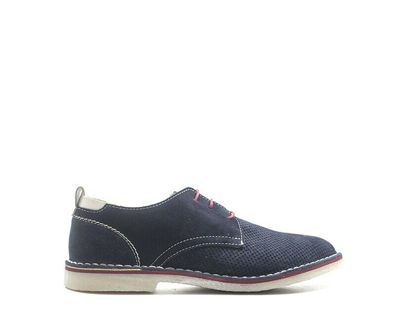 Zapatos J.P.Q. Hombre azul Gamuza 7505-BL