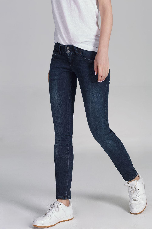2c39902ac36 LTB Damen Damen Damen Jeans Molly Super Slim Skinny Fit Lorina Dunkelblau  Röhre 5065-3429