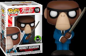 Monkey-Assassin-Funko-Pop-Vinyl-New-in-Mint-Box-Protector