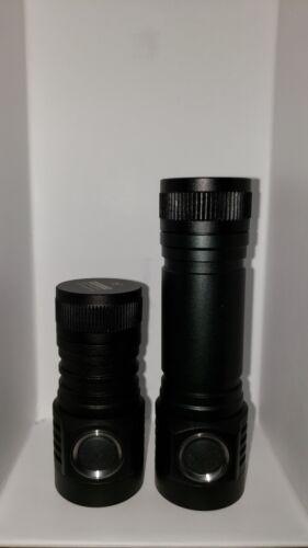 Noir * Emisar D4 tube court