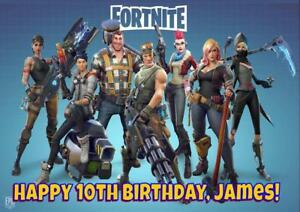 Fortnite D2 Personalised Birthday Card Any Name Age Relation Ebay