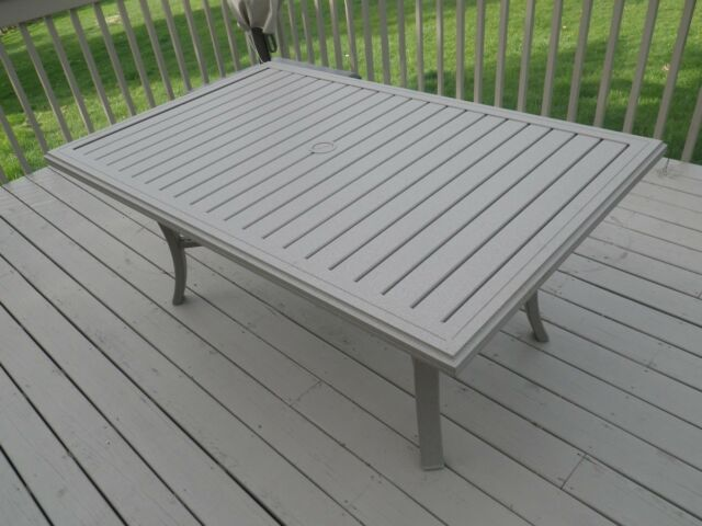 Tropitone Banchetto 66x42 Outdoor Dining Table TR KD TB 6642MOA 401166U  FR MOAB