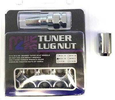 Ultralite M12 x 1.5 Interno HEX DRIVE RUOTA LUG NUTS sintonizzatore di sicurezza x 20 Y3156