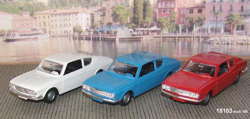 Märklin 18103-03 Audi 100 1:43 blau//weiss//rot-NEU OVP#
