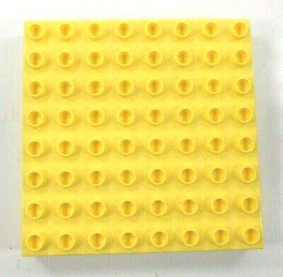 Lego Duplo Baseplates 8 X 8 Flat Tan