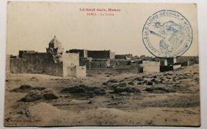 481-Antica-Cartolina-il-Haut-Guir-Marocco-Sahli-la-Zaouia