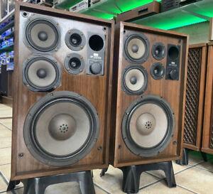 SANSUI-SP-2500X-Original-Speaker-Vintage-1979-3Way-100W-RMS-Refurbished-Like-New