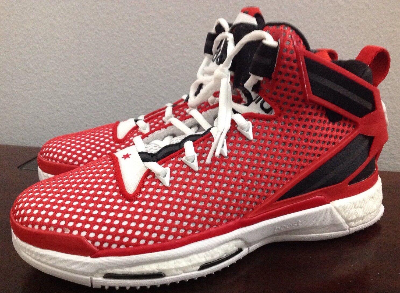 Adidas schuhe d gs basketball - schuhe Adidas artaq8722 rose auftrieb rot / schwarz / weißen größe: 7 f6db7d