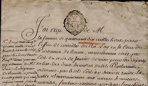 1641-1768-Office-de-Conseiller-du-Roi-au-Parlement-Rouen-Le-SEIGNEUR-de-Reuville
