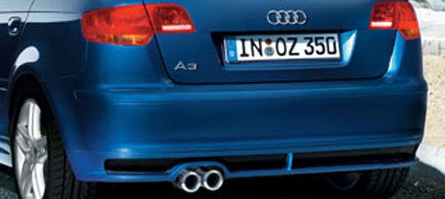 Neuf Votex Original Audi A3 Sportback Tablier Arrière 8P9071610 9AX Apprêté Abbé