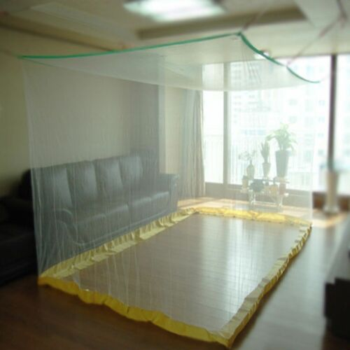 New Large Portable Insect Mosquito Fly Bug Net Netting Screen Bed Canopy Folding
